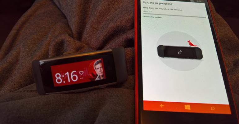 Microsoft Band Gives Bigger Nod to Windows 10 in Latest Update