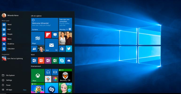 Performing a quiet Windows 10 upgrade