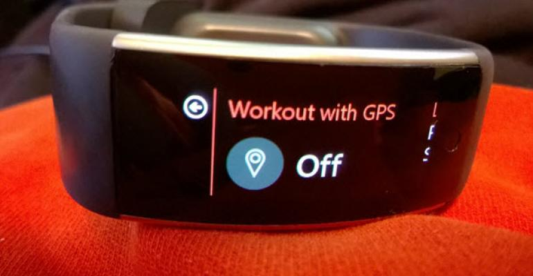 How GPS Works in Guided Workouts in Latest Microsoft Band Update