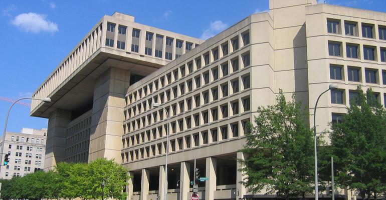 The J Edgar Hoover building headquarters of the FBI