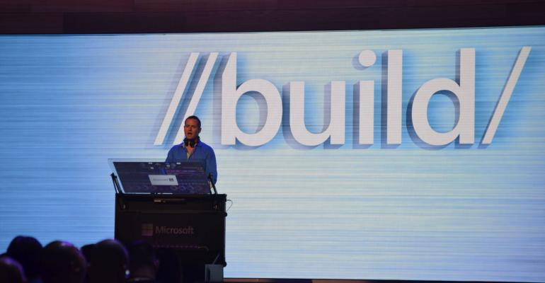 Digging into the Build 2016 Schedule