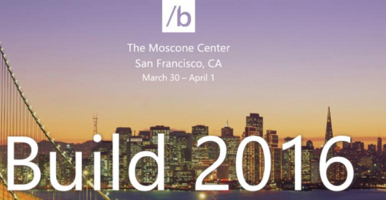 How to Get the Build 2016 Mobile Apps for Each Supported Platform