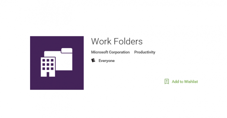 Microsoft Releases Work Folders App for Android Users