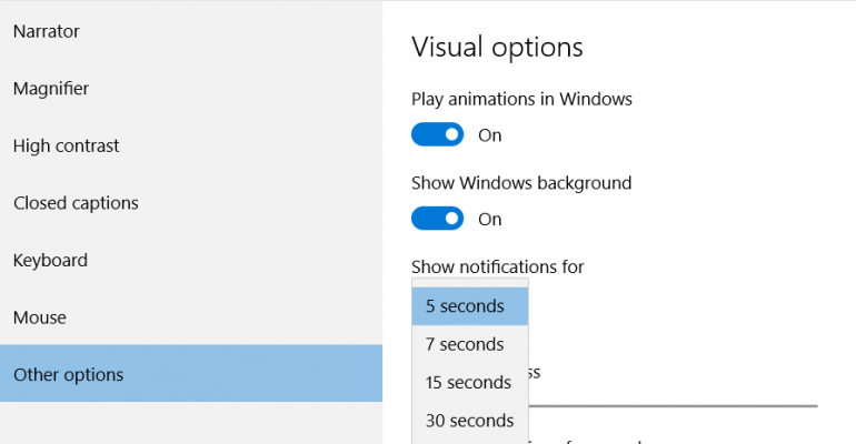 How-To: Adjust Notification Display Timing on Windows 10