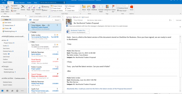Email Issues Between Outlook 2016 and POP3 Accounts
