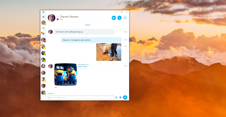 Microsoft Preparing to Release Universal Skype App for Windows 10