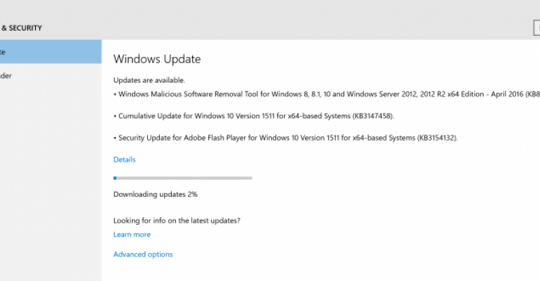 Windows 10 Version 1511 Current Branch Build 10586.218 Released