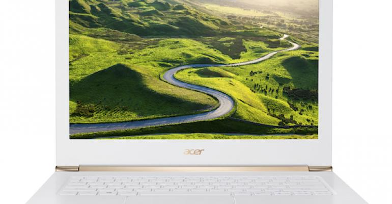Here's a Peek at the New Windows 10 PCs Acer Announced