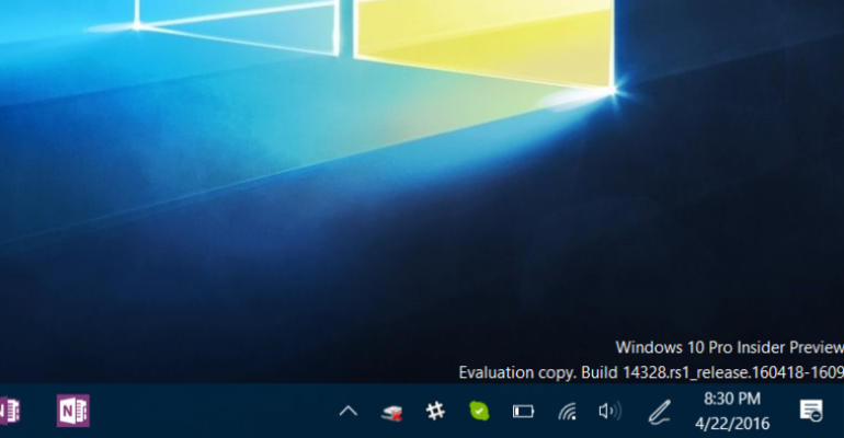 Microsoft Issues a Massive Windows 10 Anniversary Update Build for Insiders