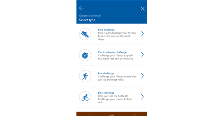The Activity Challenges Available in New Microsoft Band Facebook Connection