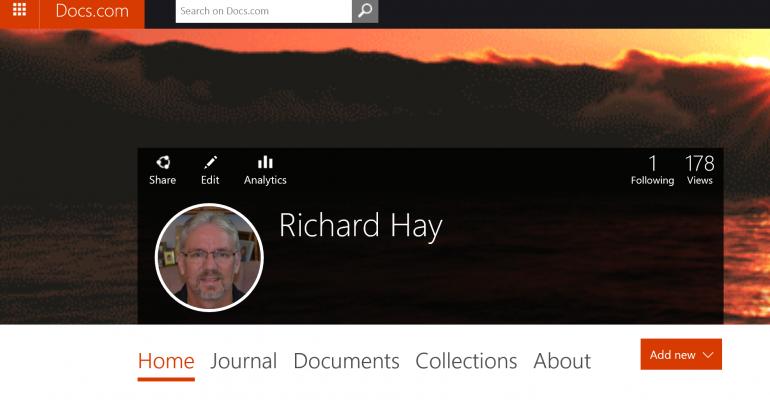 Check out Microsoft's Document Sharing Website Docs.com