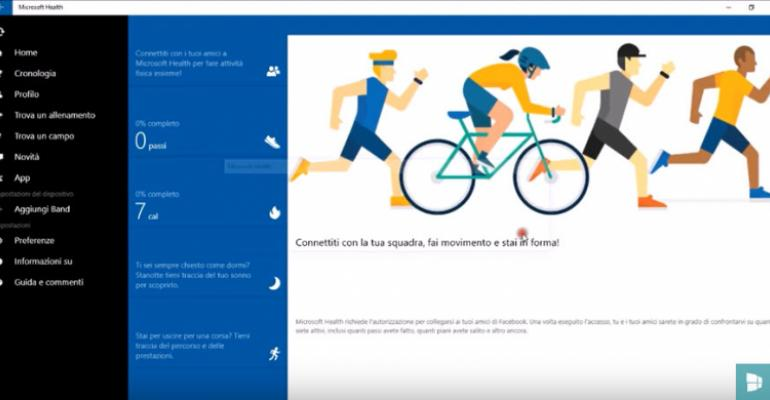 Microsoft Health App to Go Full UWP Soon?