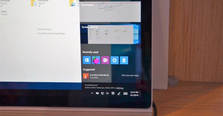 Inking in the Windows 10 Anniversary Update
