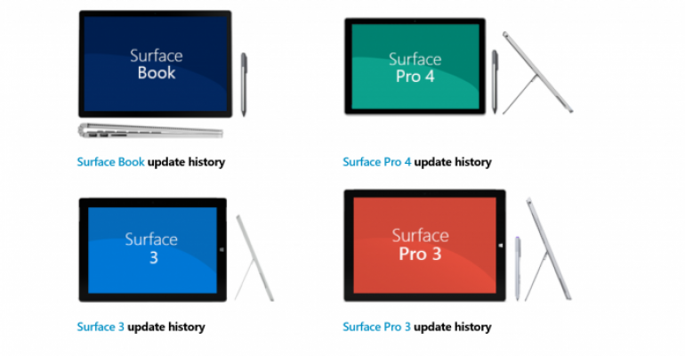 Surface Pro 4 and Surface Book Users Report Issues with April 2016 Firmware Updates
