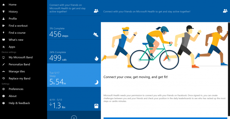 Microsoft Health Now Available for Windows 10 for PCs – Sort Of