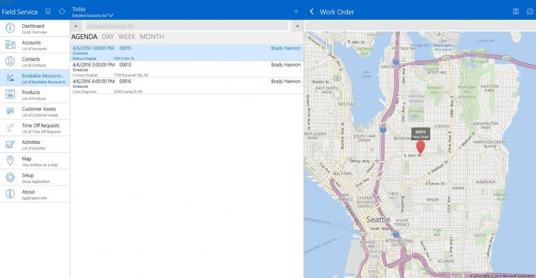 Microsoft Releases Field Service Shell for Dynamics CRM on Windows 10