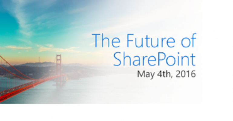 SharePoint 2016: Today Marks New Version's Debut