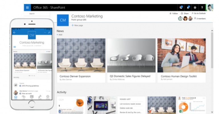 SharePoint Server 2016, Project Server 2016 and Office Online Server hit general availability