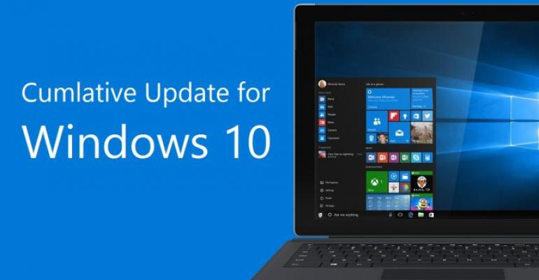What's Fixed in the May 10 Cumulative Update for Windows 10