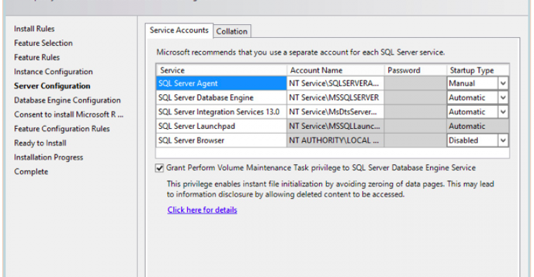 First Impressions of the New SQL Server 2016 Installation Experience