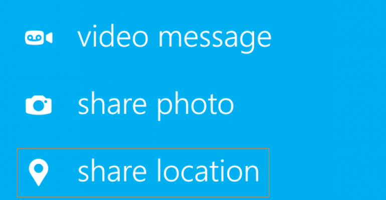 How to Share Your Location on Skype