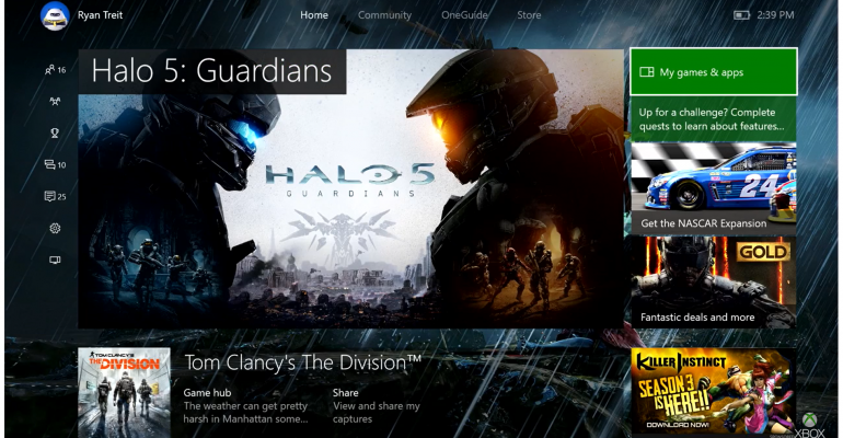 Xbox One Preview Program Will Deliver July Anniversary Update