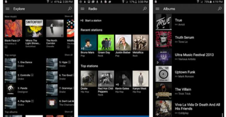 Latest Groove Update Puts Microsoft's Music Service App where it Should Be