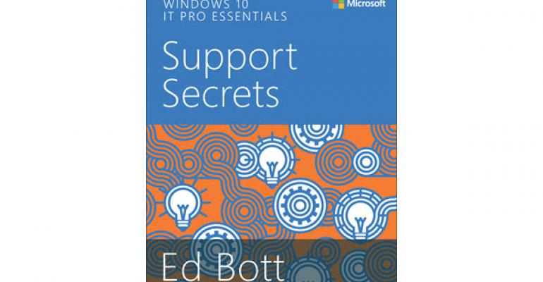 Microsoft Press Releases free Windows 10 eBook Written by Ed Bott