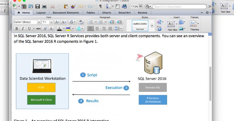 SQL Server 2016 R Integration