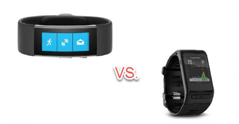 Microsoft Band 2 versus Garmin Vivoactive HR