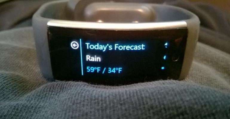 Microsoft Band Bug: The Weather Tile Fails to Update