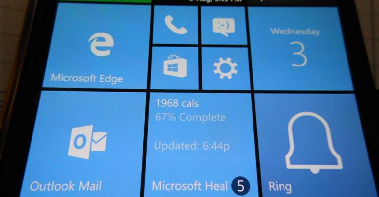 Live Tile Bug Reveals a New Notification Counter for Microsoft Health App