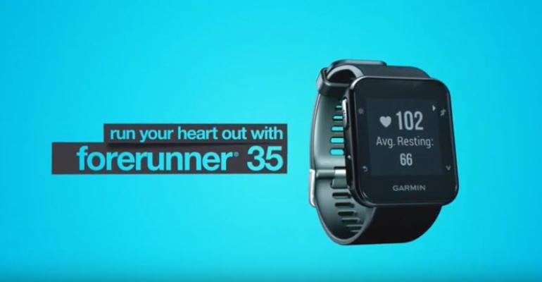 Garmin Forerunner 35 is a Stylish Vivosmart HR