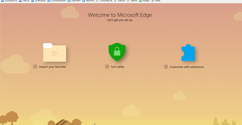 Quick Tip: How to Customize Favorites Bar and Pin Tabs in Microsoft Edge