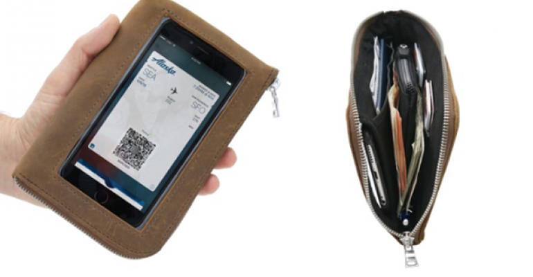 WaterField Goes Kickstarter for RFID-blocking Travel Wallet