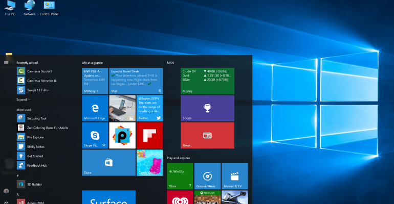 Resource: Windows 10 Productivity Guides