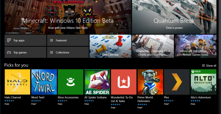 Windows 10 Anniversary Update Now Available; Windows Store Open to Developers