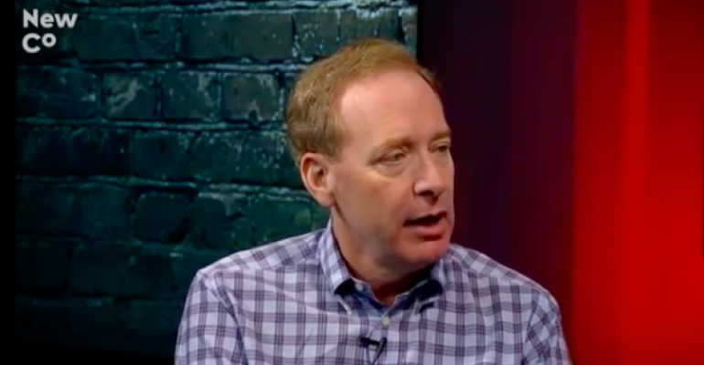 Microsoft's Brad Smith fires back at Salesforce: Looking forward to making CRM more competitive