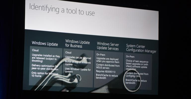 Microsoft Ignite: Windows 10, Windows 10, Windows 10