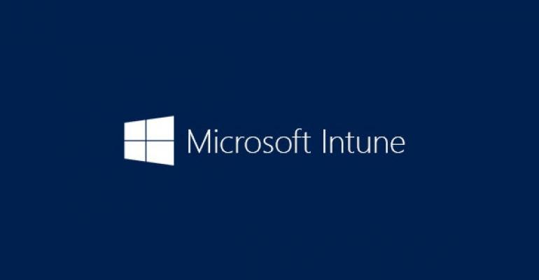 Support for non Microsoft apps for iOS and Android via Intune