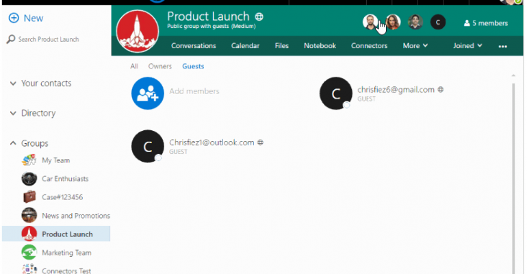 Microsoft Enables Guest Access to Office 365 Groups