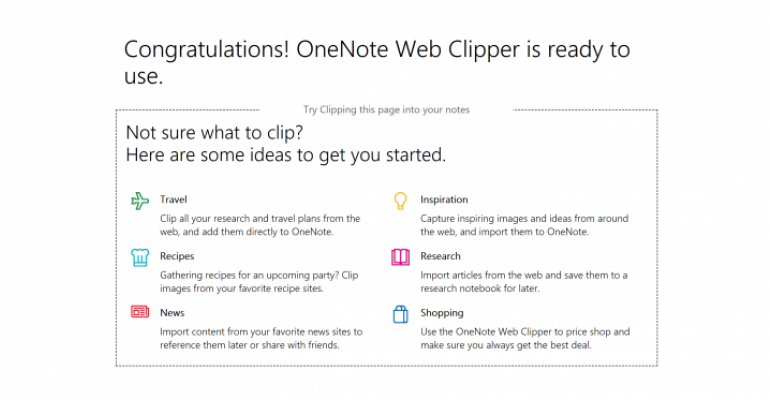 Microsoft Open Sources the OneNote Web Clipper