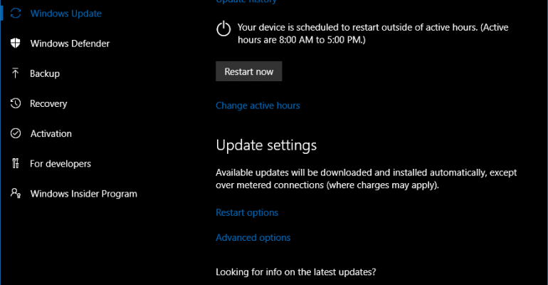 Microsoft Updates Windows 10 (Current Branch) to Version 1607 OS Build 14393.187