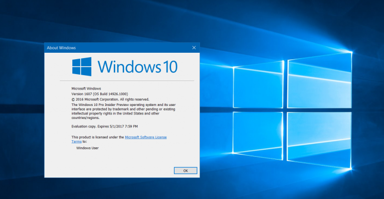 Quick Tip: Watch for the Expiration Dates in Windows 10
