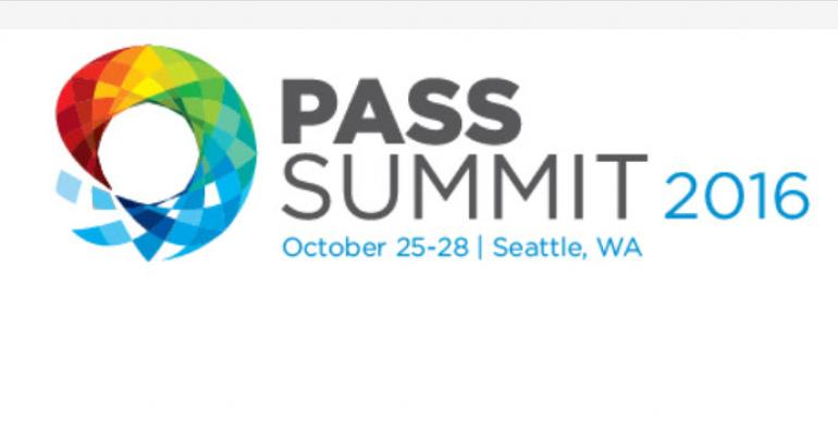 SQL PASS 2016 Preview