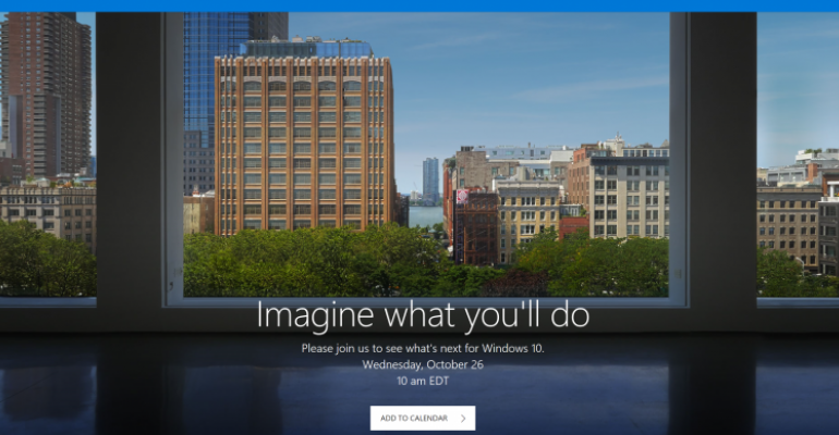 New Surface Likely to Appear at Microsoft's October Event