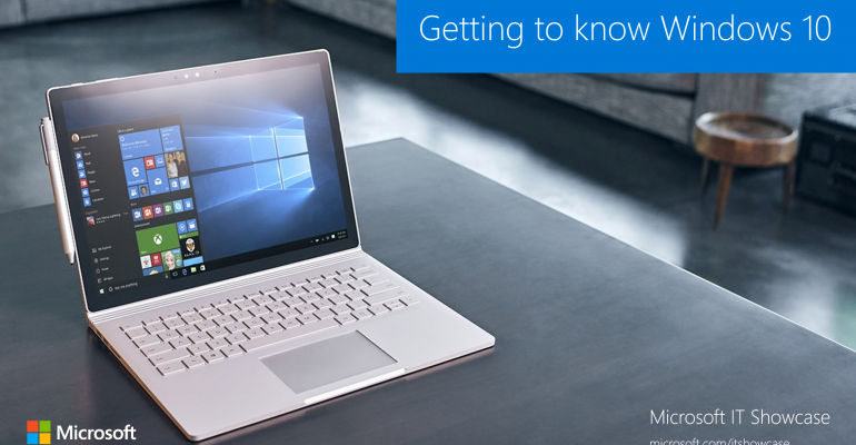 Learn More About Windows 10 with this Microsoft IT Showcase Presentation