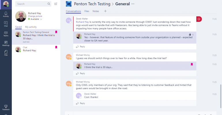 Quick Tip: How to Save Chats in Microsoft Teams