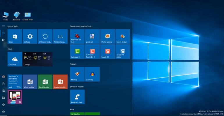 Windows 10 Creators Update Build 14965 Highlights