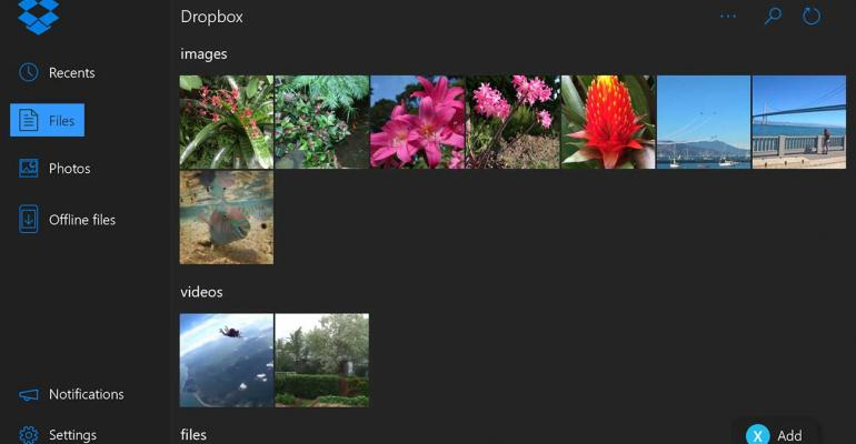 Dropbox Debuts App for Xbox One
